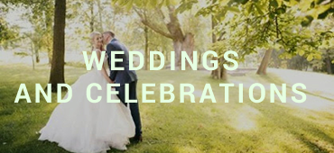 Weddings and celebrations